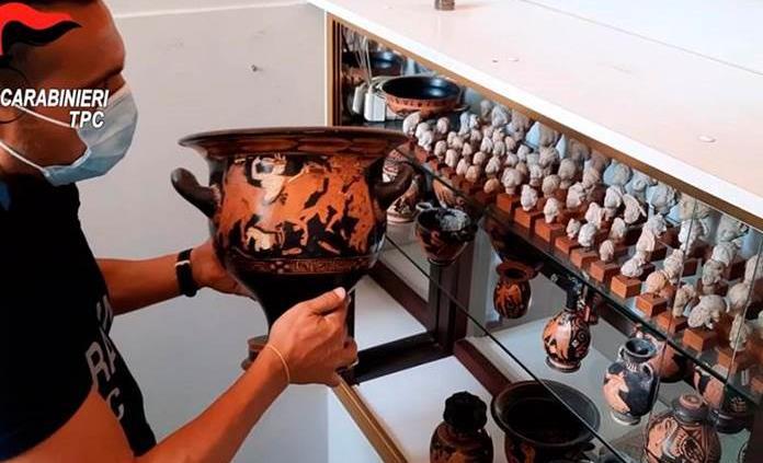Una millonaria colección arqueológica, devuelta a Italia desde Bélgica