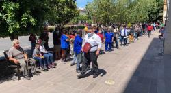 Industria, comercio y dependencias públicas participan en simulacro de sismo en SLP