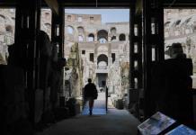 Turistas pueden visitar bambalinas subterráneas de Coliseo