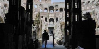El Coliseo de Roma muestra sus entrañas en un nuevo recorrido por su subterráneo