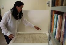 El Archivo de los Carmelitas en Roma, un taller de pergaminos centenarios