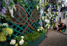 El barrio de Wimbledon se engalana de tenis para el histórico campeonato