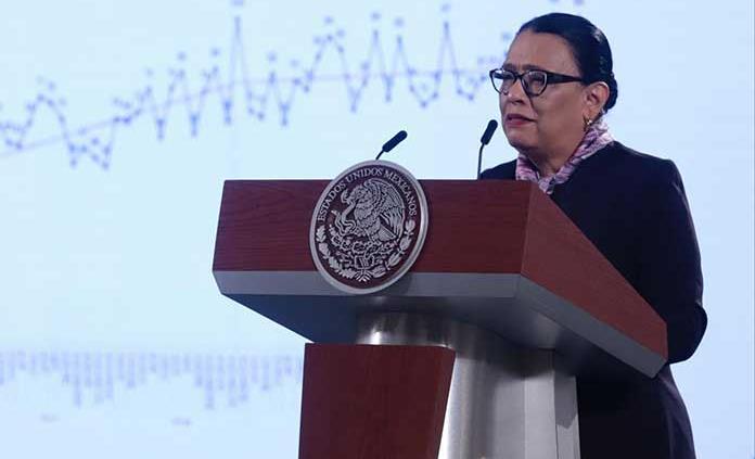 No venimos a ganar la guerra sino la paz, dice Rosa Icela Rodríguez en Senado