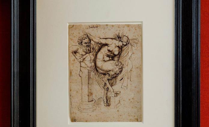 Sothebys subastará un dibujo de Rubens de un cuaderno de bocetos perdido