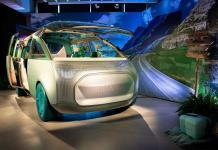 MINI presenta una van urbana futurista y ecológica