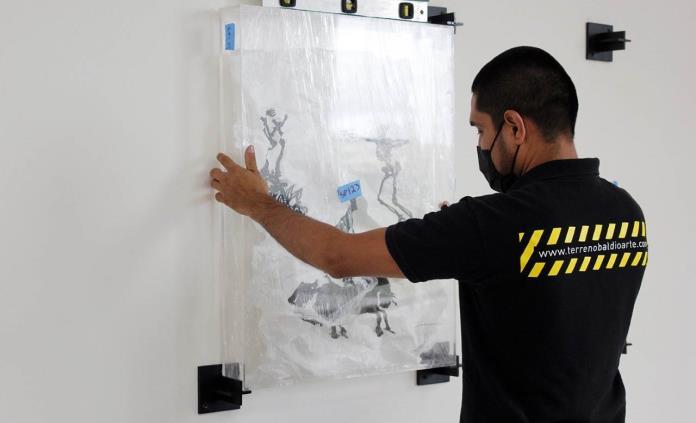 El escultor Javier Marín dona a la UASLP su obra gráfica Siluetas pequeñas