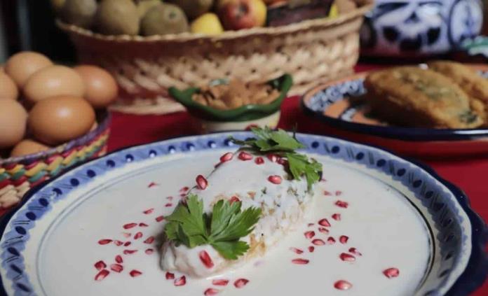 Los chiles en nogada cumplen 200 años