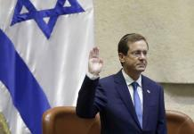Toma juramento el nuevo presidente de Israel, Isaac Herzog