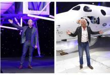 Multimillonarios se preparan para ir al espacio en sus propios cohetes