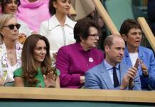 Realeza y Hollywood, presentes en Wimbledon