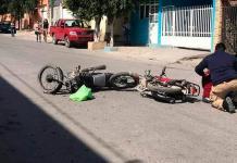 Se incrementan los accidentes de motociclistas
