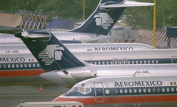 Aeroméxico recibirá hasta 300 mdp por error de la CRE en tarifas de turbosina