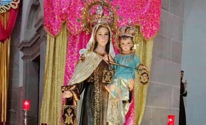 Festividad de Virgen del Carmen, sólo con dos misas