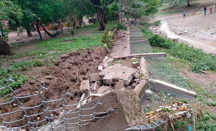 Detectan daños en presa Ojo de Agua en Cerritos