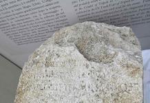 Hallan una de las piedras que marcaban el límite sagrado de la antigua Roma