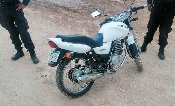 Gracias al GPS, recuperan moto robada con violencia