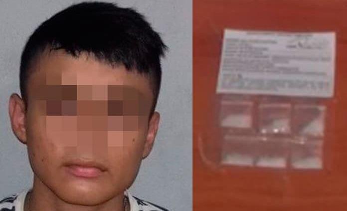 Joven es detenido al traer droga, en Tamuín