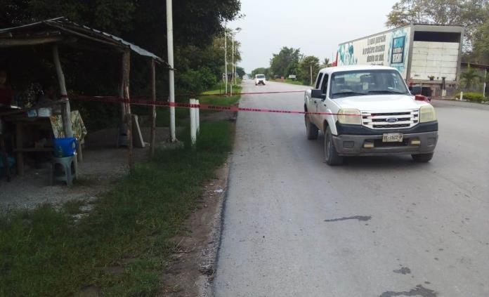 Dejan una oreja humana frente a puesto de comida en Tamuín