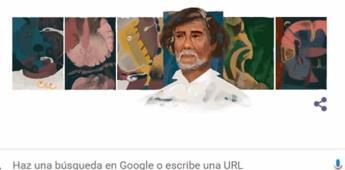 Este es el proceso creativo detrás del doodle de Francisco Toledo