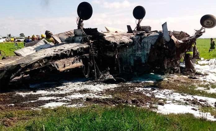Avioneta despegó en SLP y se desplomó en Durango