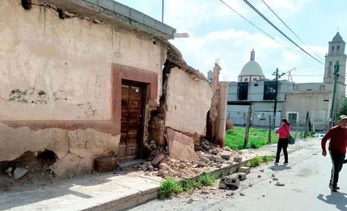 Las casas viejas se derrumban