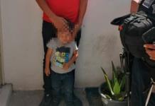 Niño se extravía y es auxiliado por agentes de Soledad