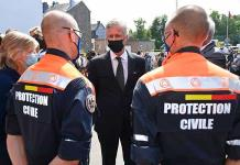 El rey belga destaca la solidaridad de los ciudadanos tras las inundaciones