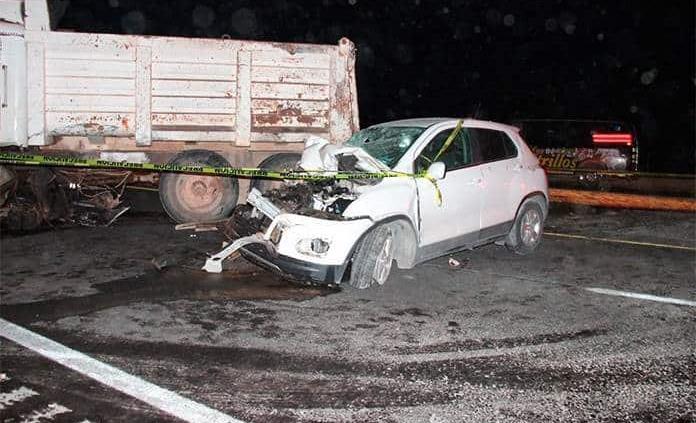 Mujer fallece en fuerte accidente en la Carr. ´57