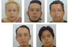 Caen dos mujeres y tres hombres por presunto robo y lesiones en Venado