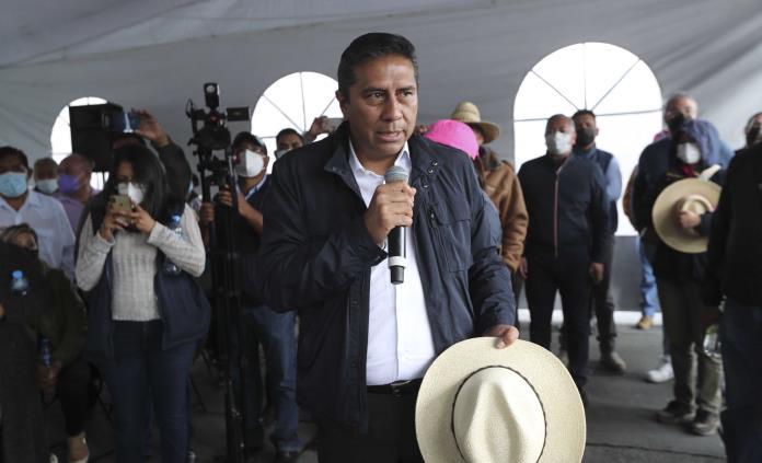 Alcalde de Toluca retira plantón; asegura ya contar con recursos
