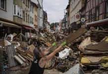 Inundación en Alemania trae tema climático a campaña electoral