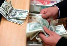 Dólar sube por segundo día y cierra en 20.57 pesos