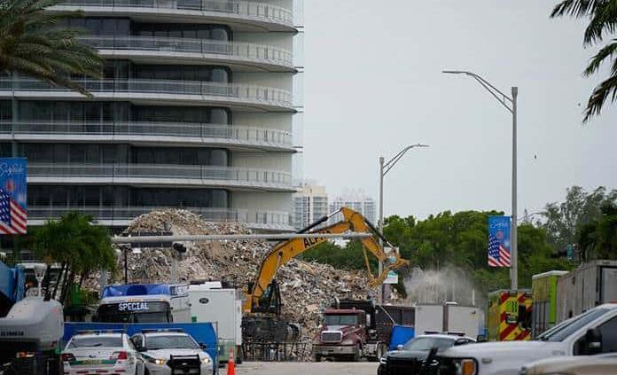 Suman 97 las víctimas mortales del derrumbe en Miami identificadas