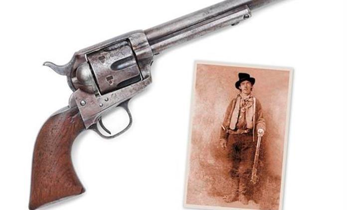 Subastan la pistola con la que el alguacil Pat Garrett mató a Billy the Kid