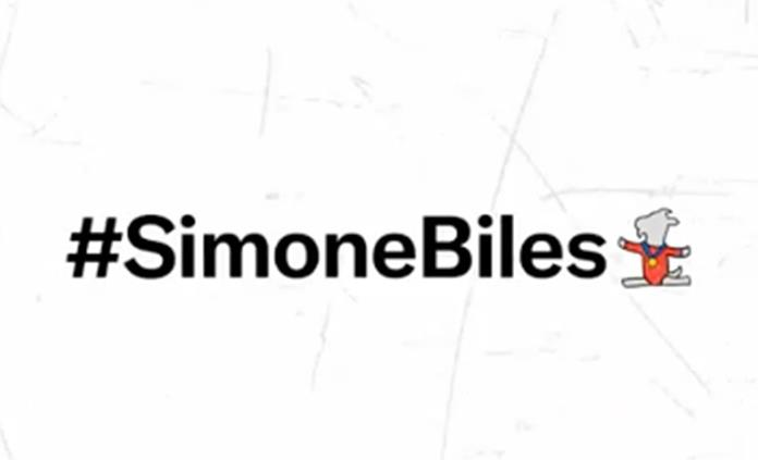 Simone Biles, primera deportista con emoji propio