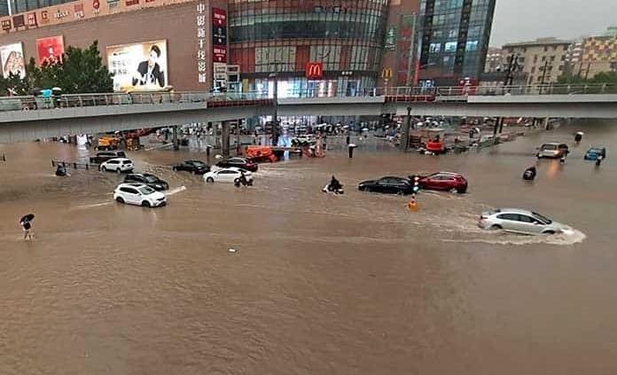 Escenas de terror en China por lluvias