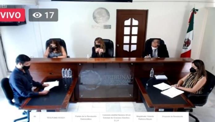 TEE declara infundada queja del PRD por elección en Soledad