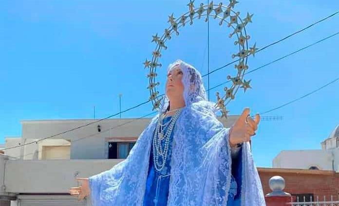 Festejan a la Virgen de la Asunción