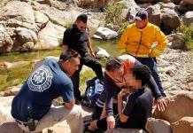 Salvan a niño de ahogarse en Cañada del Lobo