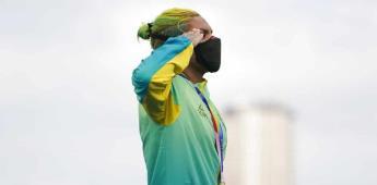 Brasileña Cunha gana el oro en nado de aguas abiertas