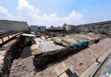 El Templo Mayor sigue en reparación por los daños que sufrió en tormenta