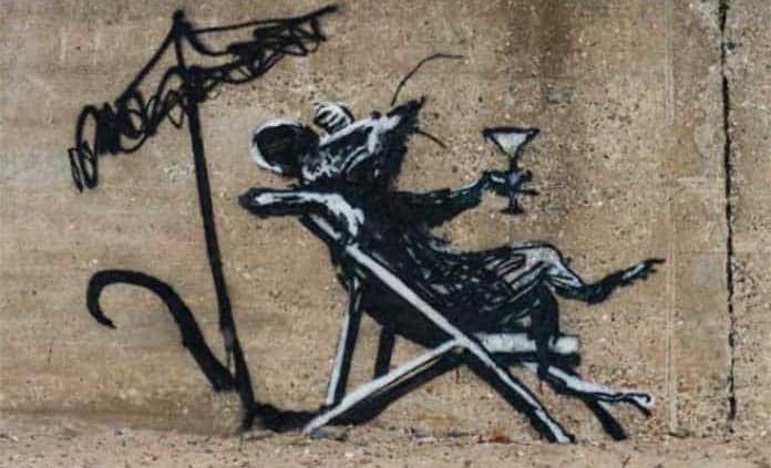 Banksy confirma la autoría de obras aparecidas en el este de Inglaterra (VIDEO)