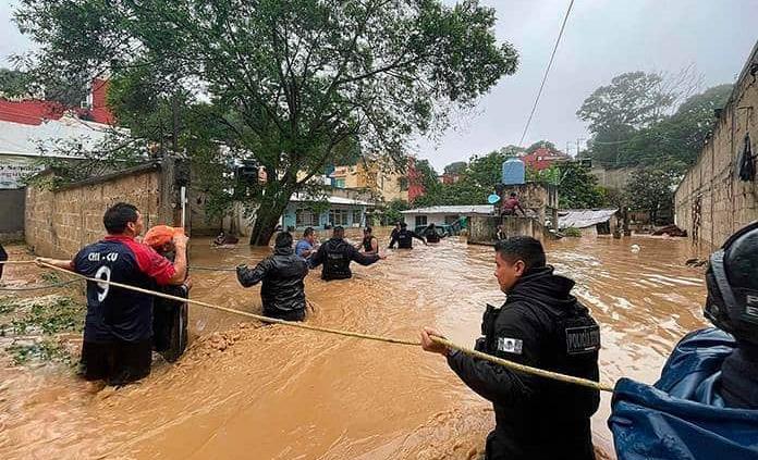 Comercios registran pérdidas por inundaciones y terremotos: Concanaco