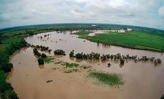 Esperan crecida del río Moctezuma por desfogue de la presa Zimapán