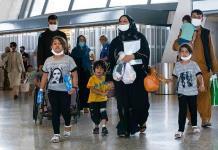 La gente de Trump no quiere refugiados afganos