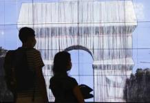 Todo por el arte: cubrirán de tela el Arco del Triunfo