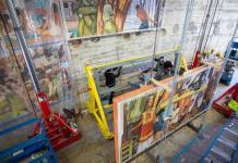 Los universitarios que trasladaron un Diego Rivera de 30 toneladas