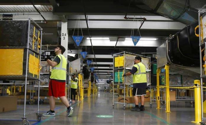 California podría obligar a Amazon a publicar sus cuotas de productividad