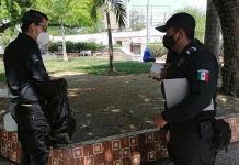 Detención y multa a quien no use el cubrebocas