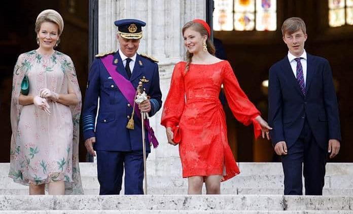 Los reyes de Bélgica se aíslan por caso de COVID en familia real